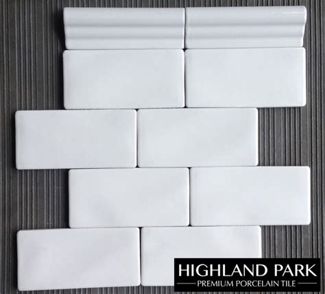 whisper white handcrafted 3x6 quot subway highland park