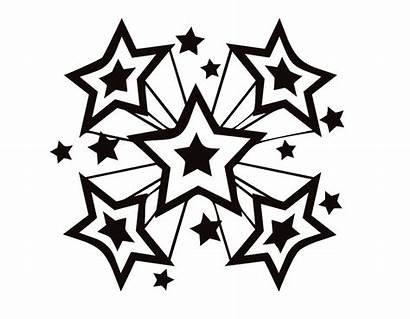 Coloring Star Pages Printable Stars Shooting Perfect