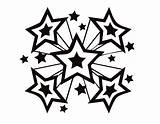 Coloring Star Pages Printable Shooting Stars Perfect Drawing Ninja Luther Martin King Jr Silhouette Print Getdrawings Flower Outline Underwater Colorings sketch template