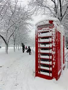 London Snow Christmas