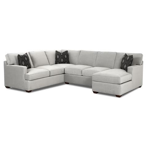 Chaise Lounge Loveseat by Sectional Sofa With Chaise Lounge By Klaussner
