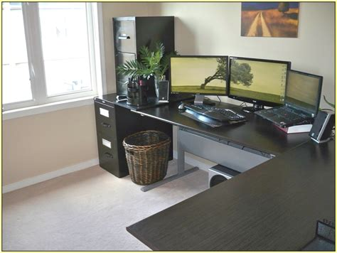Ikea L Shaped Desk Ideas by Awesome Ikea L Shaped Desk All About House Design