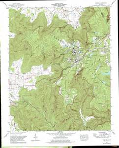 Tennessee Topographic Map