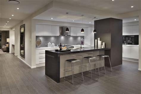 caesarstone jet black kitchen by rawson homes http www