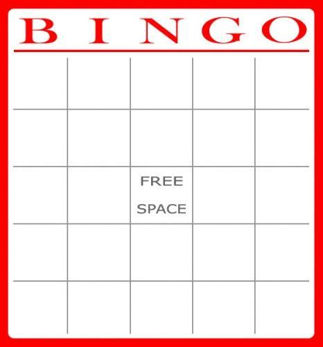 Bingo Template Printable Templates Printable Bingo Cards Printable