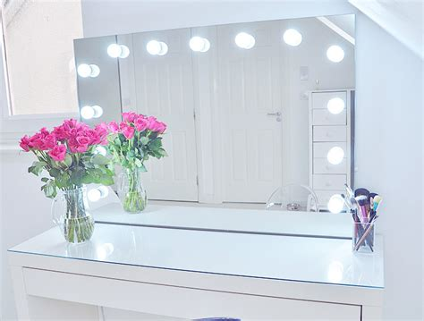 Vanity Table Ikea Uk by Makeup Storage Ideas Ikea Malm Makeup Vanity With Mirror