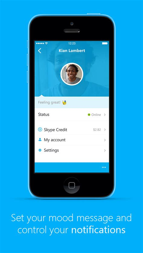 skype app for iphone skype app now lets you start a audio call from your