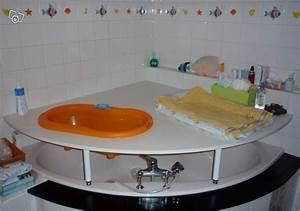 Table A Langer Pour Salle De Bain : table a langer pour baignoire d 39 angle recherche google salle de bain pinterest table ~ Teatrodelosmanantiales.com Idées de Décoration