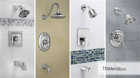 Shower Tub Plumbing by American Standard Trimendous Shower Valve System