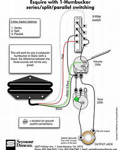 Seymour Duncan Hot Rails Bridge Pickup Wiring Diagram