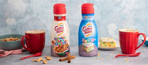 Internet explorer is no longer supported by coffee mate®. Coffee Mate Has Cinnamon Toast And Funfetti Creamers - Simplemost