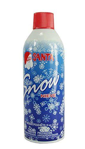 galleon artificial white santa snow spray for christmas