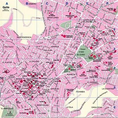 Quito Map Ecuador Places Maps Panorama America