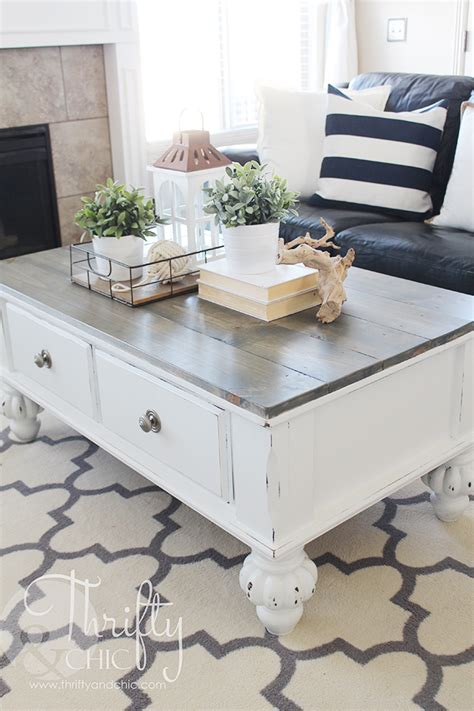 farm style coffee table farmhouse style coffee table makeover before and after