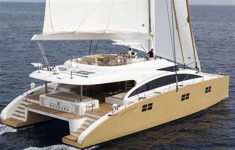 Catamarans For Sale Mediterranean by Yacht Houbara A Sunreef 82 Double Deck Superyacht