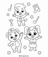 Coloring Pages Dance Bathroom sketch template