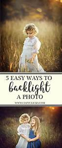 want to know how to backlight a photo read here for 5