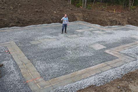 un ilot de cuisine tuyaux pvc drainage fodnation drain fondation
