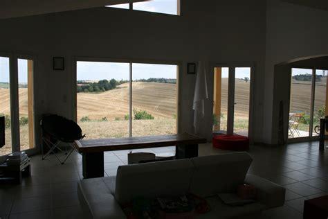 maison hauteur sous plafond amnager le soussol la vue dgage depuis le salon vide sur sjour 6m
