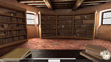 bureau virtuel montaigne restitution 3d de la librairie monloe montaigne à