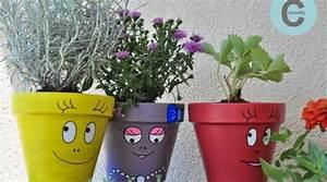 50 idees pour customiser un cache pot o hellocoton With déco chambre bébé pas cher avec pot fleur couleur plastique