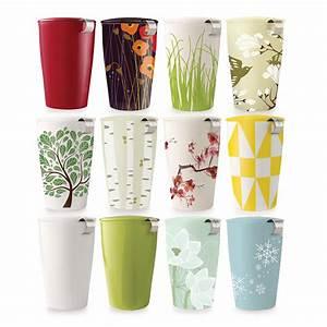 Mug Avec Infuseur : mug th kati couture tea forte avec infuseur ~ Teatrodelosmanantiales.com Idées de Décoration