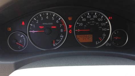 reset airbag light   nissan pathfinder