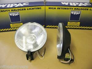 wipac 6 3 4 inch wipac driving ls spot lights 12volt