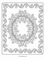 Coloring Quilts sketch template