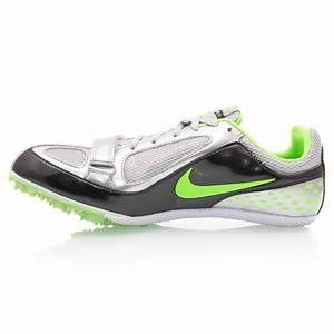 Nike Zoom Rival S 5 - Mens Track and Field Shoes - Silver ...
