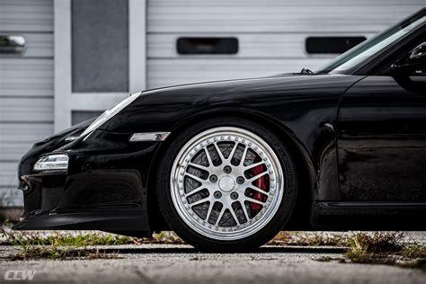 black porsche 911 gt3 black porsche 911 gt3 gets ccw wheels my car portal