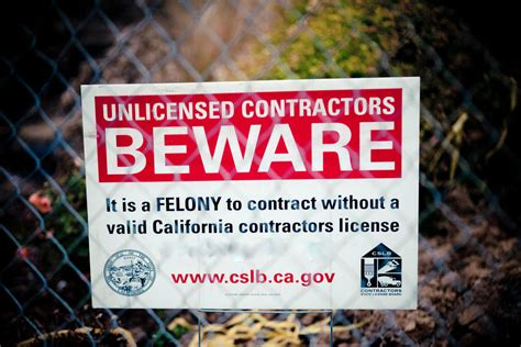 cslb stings  contractors  avoid hefty penalties
