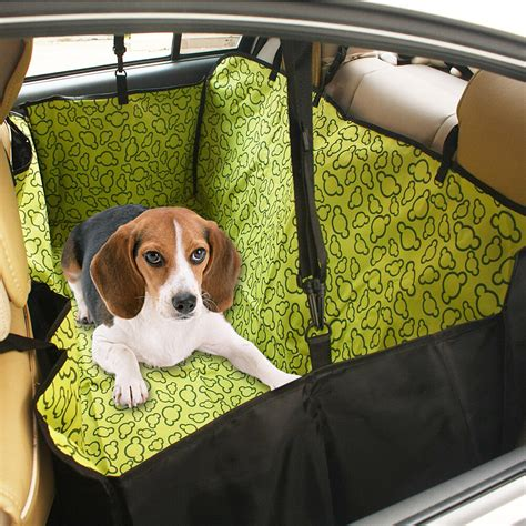 Back Seat Hammock For Dogs by Waterproof Pet Car Back Seat Cover Hammock Cat Safe