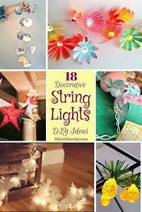 18, Decorative, String, Lights, Diy, Ideas
