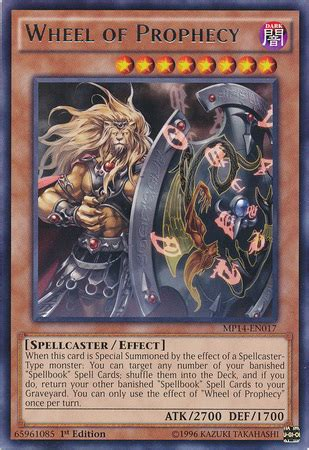 yugioh prophecy deck build wheel of prophecy yu gi oh