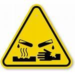 Corrosive Symbol Warning Sign Hazard Materials Triangle