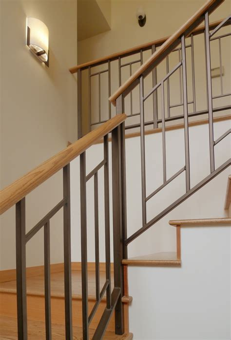 decor winsome contemporary stair railing  brilliant