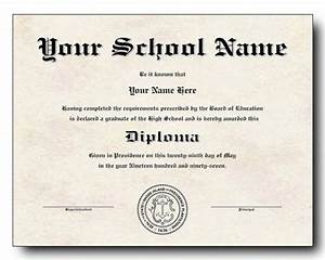 High school diploma template printable certificate for High school diploma templates for free