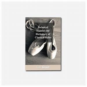 Manual T U00e9cnico Y Diccionario De Ballet Cl U00e1sico Sobre
