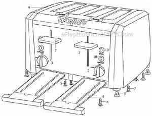 Waring Wt400 Parts List And Diagram   Ereplacementparts Com