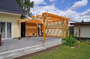 planung terrassenuberdachung carport zum selber bauen With terrassenüberdachung planung