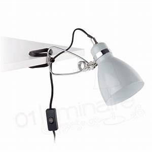Lampe A Pince : lampe de bureau pince ter grise faro ~ Teatrodelosmanantiales.com Idées de Décoration
