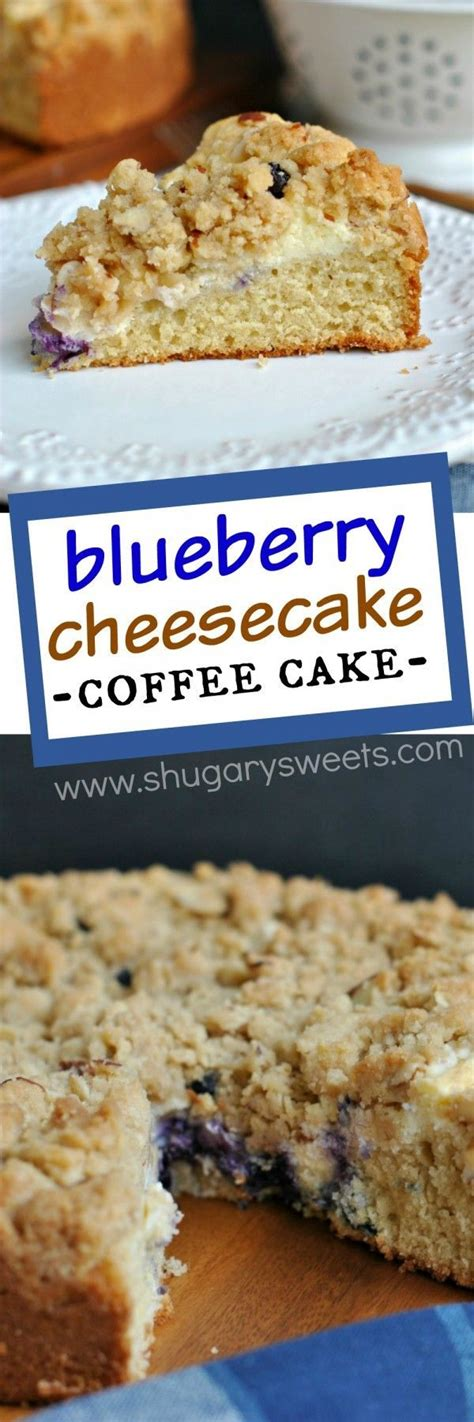 delicious coffee cake   ribbon  cream cheese