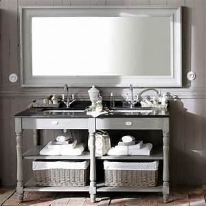 Miroir 180 Cm : miroir en bois gris h 180 cm sully maisons du monde ~ Teatrodelosmanantiales.com Idées de Décoration