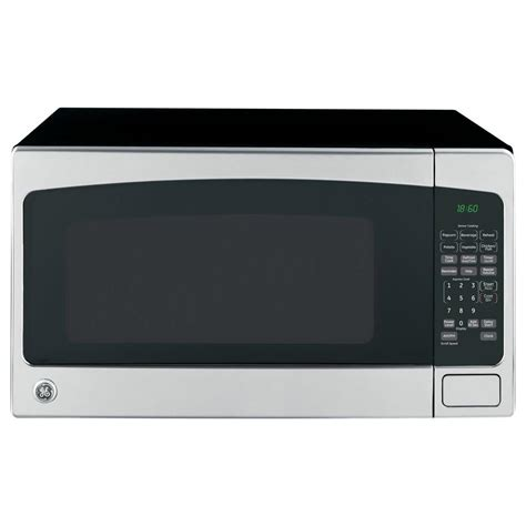 ge  cu ft countertop microwave  stainless steel jessnss  home depot
