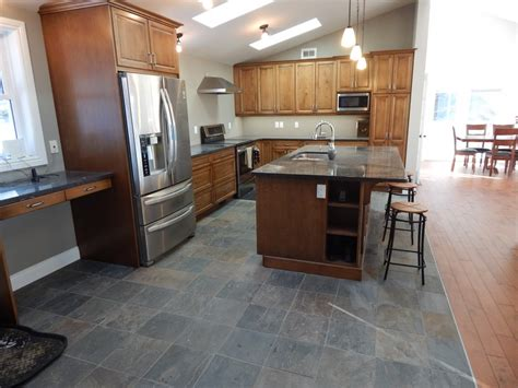 Modern Kitchen With Slate Floor  Creativetilingsolutions. Price Of Kitchen Cabinet. Kitchen Cabinet Building. Rustic Alder Kitchen Cabinets. Kitchen Cabinet Stain Ideas. What Is Refacing Kitchen Cabinets. Photo Of Kitchen Cabinets. Corner Cabinet For Kitchen. Upper Kitchen Cabinet