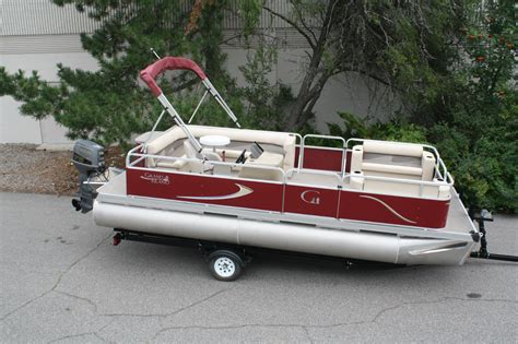 Factory Direct Aluminum Boat Trailers by Factory Direct Pontoon Boats New 20 Ft Grand Island G