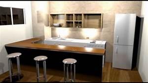 Suite Home 3d : cocina en 3d sweet home 3d youtube ~ Premium-room.com Idées de Décoration