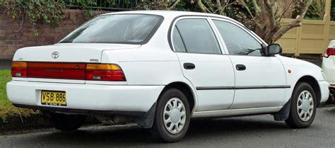 02 Toyota Corolla by File 1996 1999 Toyota Corolla Ae101r Csi Sedan 2011 06