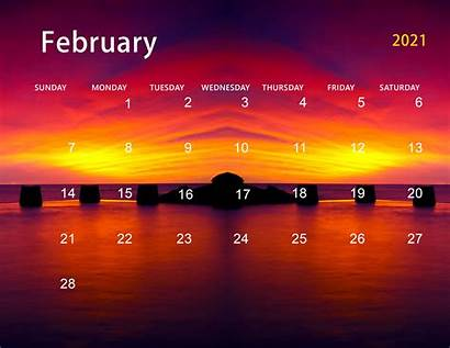 2021 Calendar February March Desktop Wall Paper
